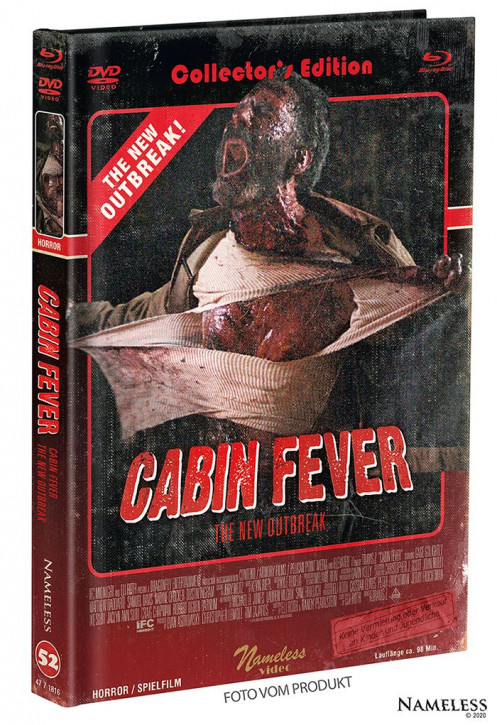 Cabin Fever 4 - The New Outbreak - Limited Mediabook - Cover B [Blu-ray+DVD]