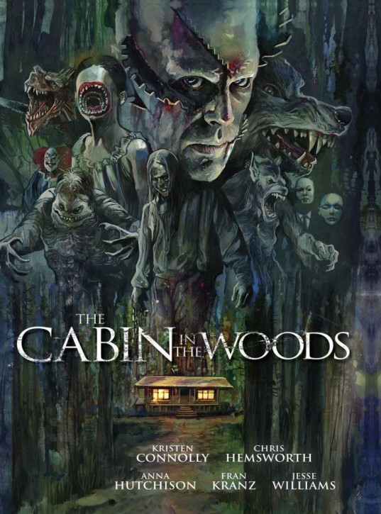 The Cabin in the Woods - Limited Mediabook Edition - Cover B [4K UHD+Blu-ray]