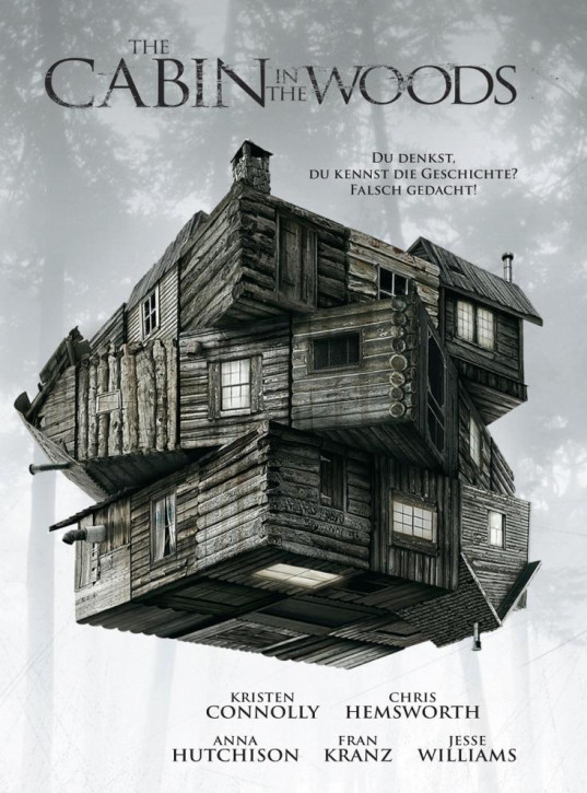 The Cabin in the Woods - Limited Mediabook Edition - Cover C [4K UHD+Blu-ray]