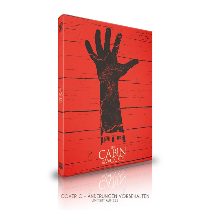 The Cabin in the Woods  - Limited Mediabook Edition - Cover C [Blu-ray]