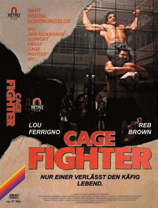 Cage Fighter - große  Hartbox [DVD]