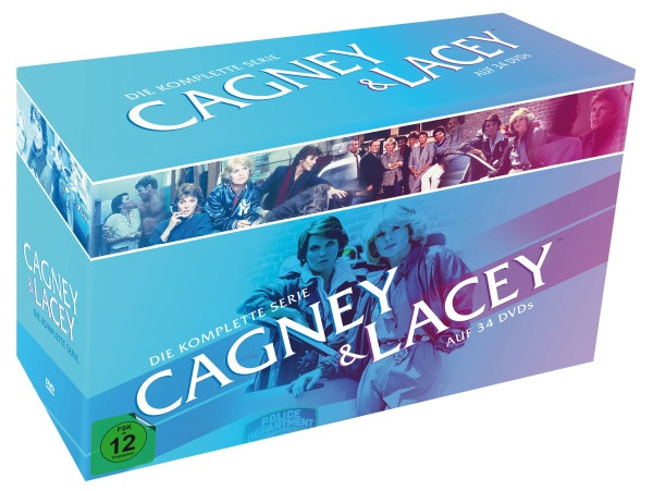 Cagney & Lacey - Die komplette Serie [DVD]