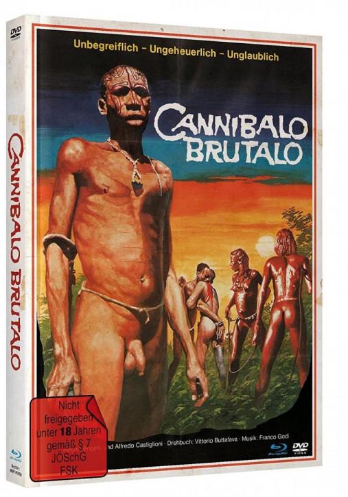Cannibalo Brutalo - Mediabook [Blu-ray+DVD]