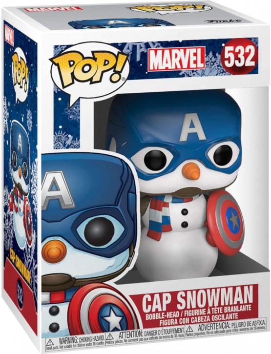 FunKo Movie: Marvel - Holiday - Captain America - Pop Vinyl Figure 532