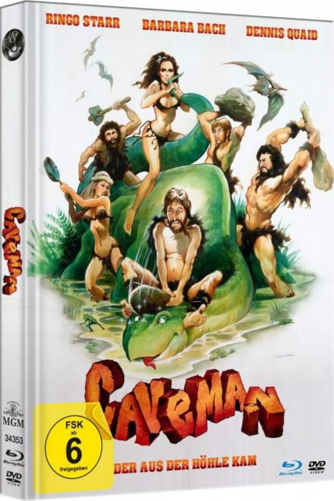 Caveman - Der aus der Höhle kam - Limited Mediabook Edition - [Blu-ray+DVD]
