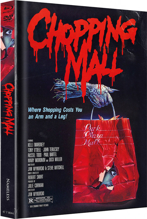 Chopping Mall - Limited Mediabook Edition - Cover B [Blu-ray+DVD]