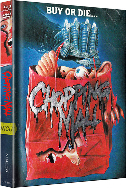 Chopping Mall - Limited Mediabook Edition - Cover C [Blu-ray+DVD]