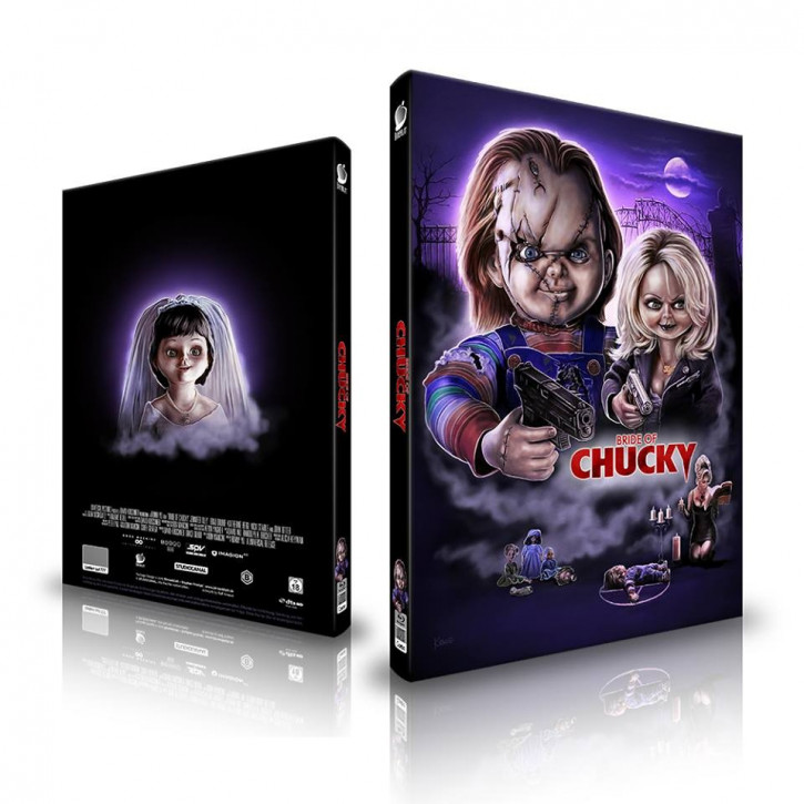Chucky und seine Braut - Limited Mediabook Edition - Cover A [Blu-ray+CD]