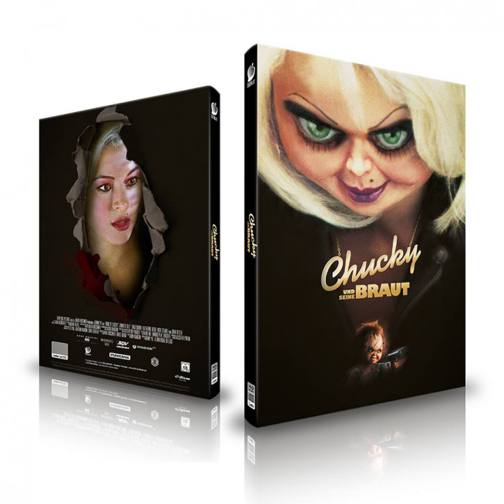 Chucky und seine Braut - Limited Mediabook Edition - Cover B [Blu-ray+CD]