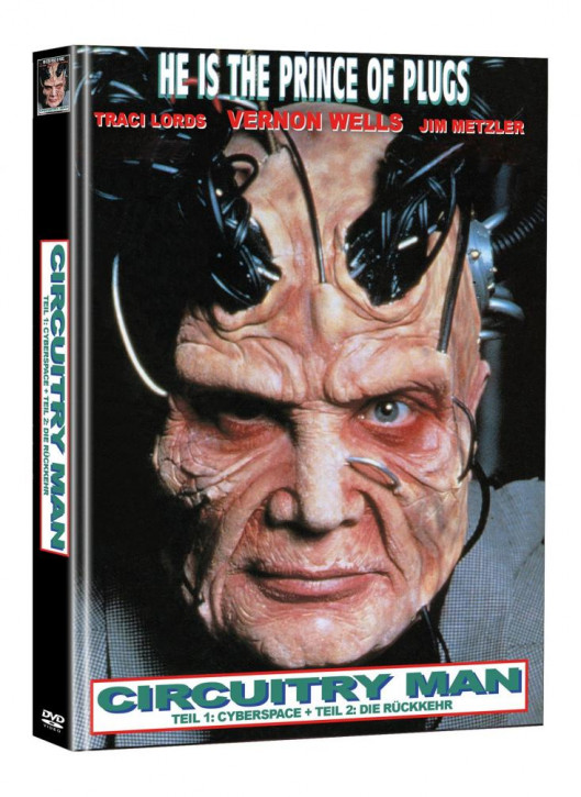 Circuitry Man 1+2 - Limited Mediabook Edition (Super Spooky Stories #87) [DVD]
