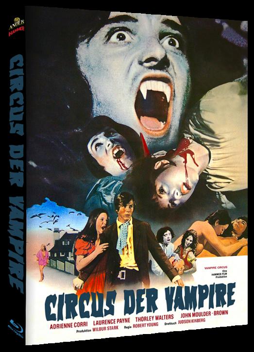 Circus der Vampire - Mediabook Cover A [Blu-ray]