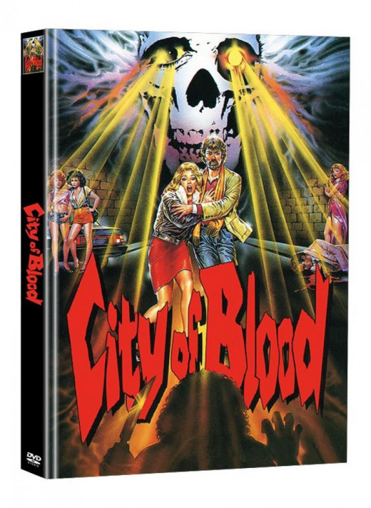 City of Blood - Limited Mediabook Edition (Super Spooky Stories #59) [DVD]