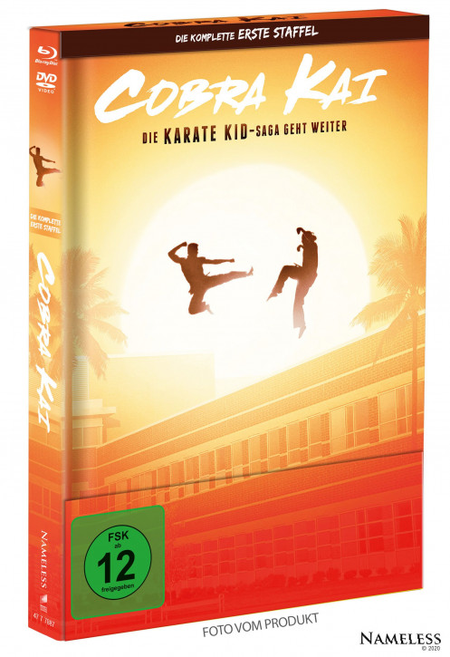 Cobra Kai - Staffel 1 - Limited Mediabook - Cover A [Blu-ray+DVD]