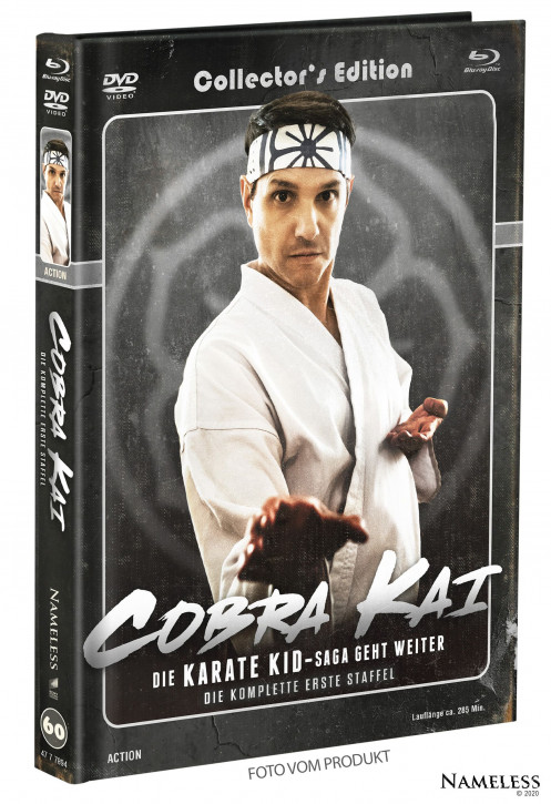 Cobra Kai - Staffel 1 - Limited Mediabook - Cover B [Blu-ray+DVD]
