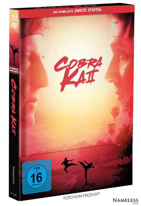 Cobra Kai - Staffel 2 - Limited Mediabook - Cover A [Blu-ray+DVD]