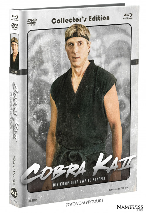 Cobra Kai - Staffel 2 - Limited Mediabook - Cover B [Blu-ray+DVD]