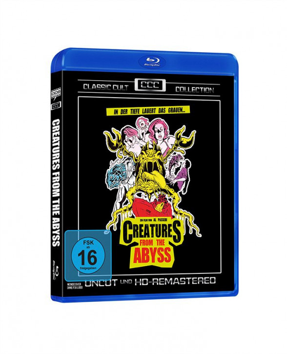 Creatures from the Abyss (Classic Cult Collection) [Blu-ray]