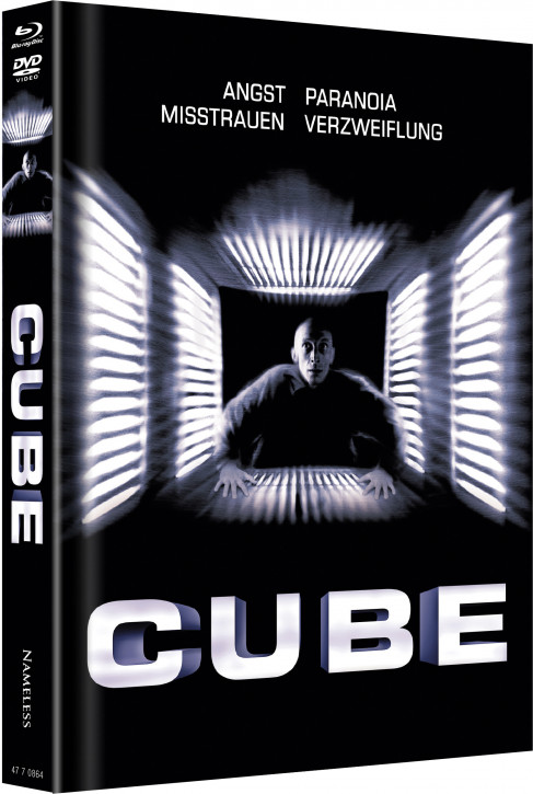 Cube - Limited Mediabook Edition - Cover A [Blu-ray+DVD]