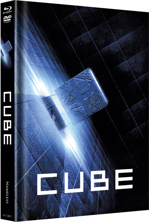 Cube - Limited Mediabook Edition - Cover B [Blu-ray+DVD]