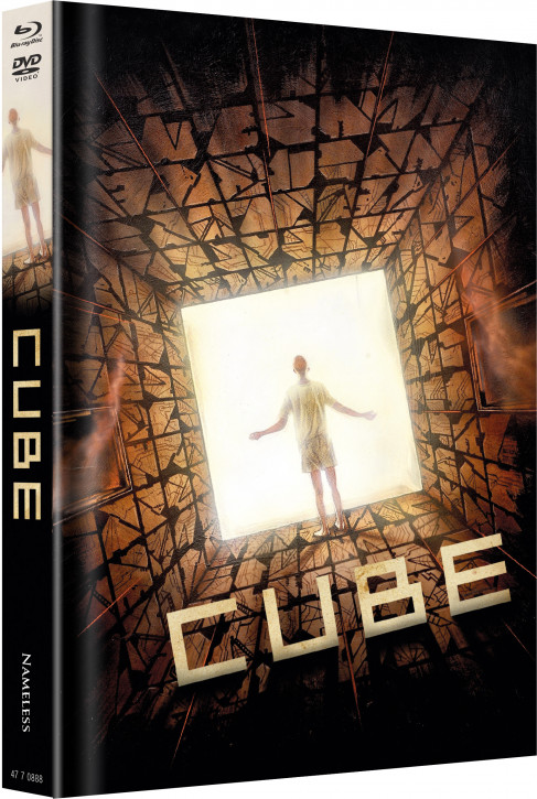 Cube - Limited Mediabook Edition - Cover C [Blu-ray+DVD]
