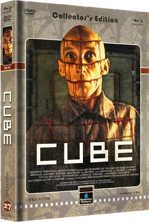 Cube - Limited Mediabook Edition - Cover D [Blu-ray+DVD]