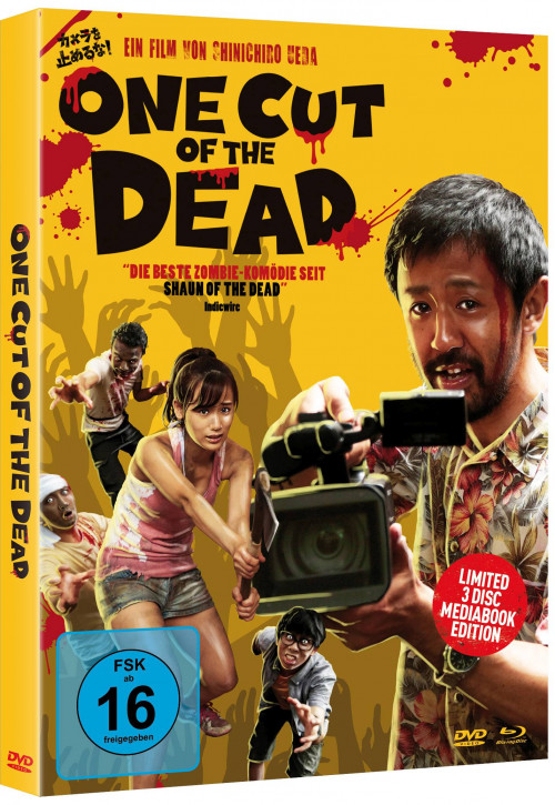 One Cut of the Dead - Limited Mediabook Edition - Cover B [Blu-ray+DVD]