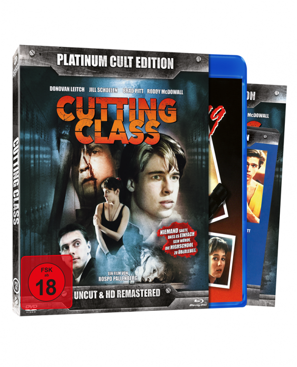 Cutting Class – Die Todesparty (Platinum-Cult-Edition) [Blu-ray+DVD]
