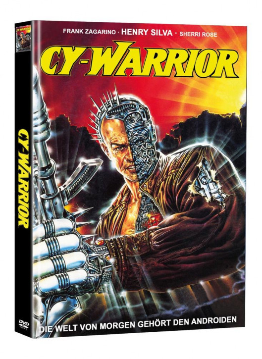 Cy-Warrior - Limited Mediabook Edition (Super Spooky Stories #92) [DVD]