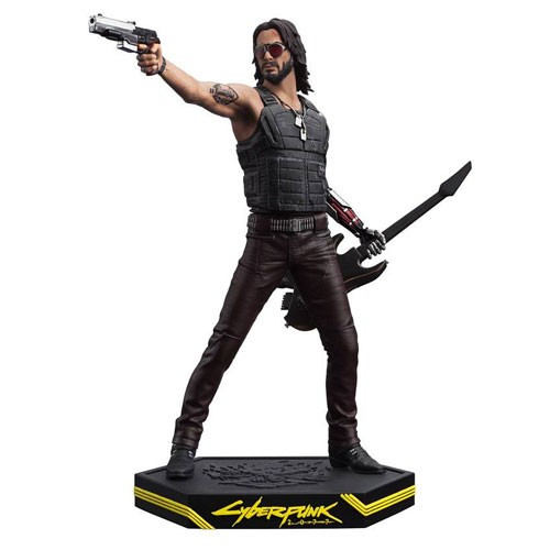 Cyberpunk 2077 Johnny Silverhand Statue