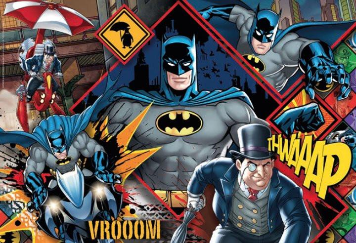 DC Comics - Supercolor Puzzle - Batman