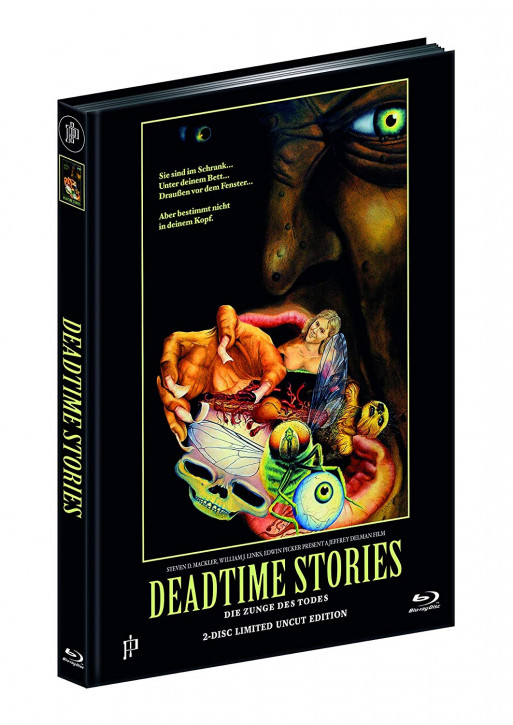 Deadtime Stories - Limited Mediabook Edition - Cover B [Blu-ray+DVD]