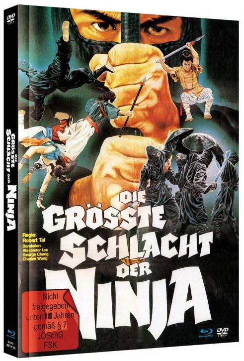 Die grösste Schlacht der Ninja - Mediabook [Blu-ray+DVD]