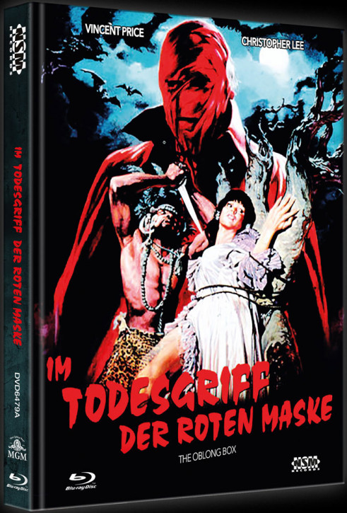 Im Todesgriff der Roten Maske - Limited Collector's Edition - Cover A [Blu-ray+DVD]