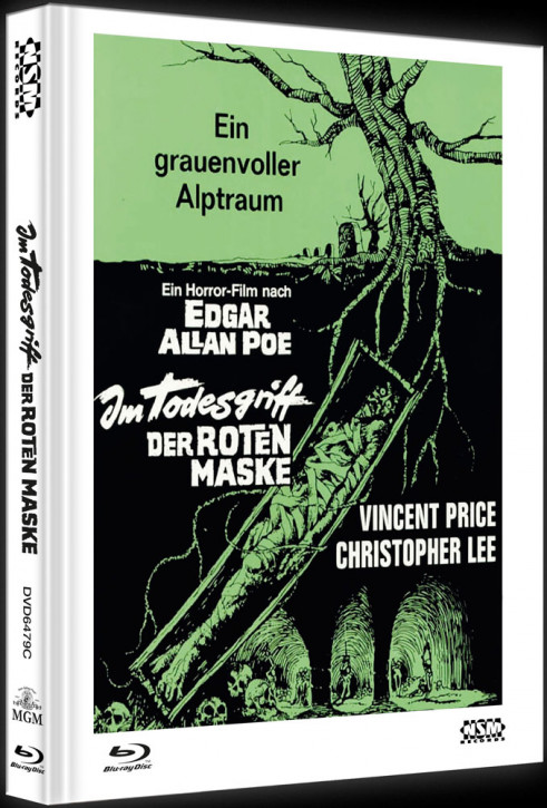 Im Todesgriff der Roten Maske - Limited Collector's Edition - Cover C [Blu-ray+DVD]