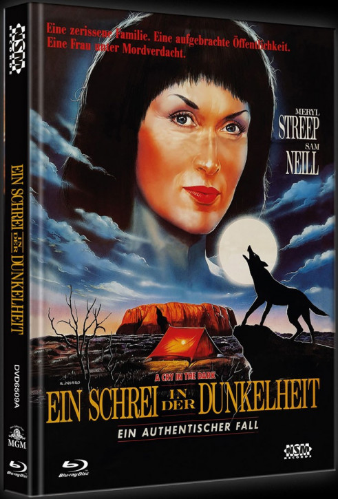 Ein Schrei in der Dunkelheit - Limited Collector's Edition - Cover A [Blu-ray+DVD]