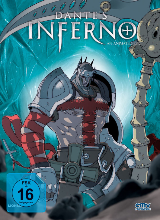 Dantes Inferno - Limited Mediabook - Cover F [Blu-ray]