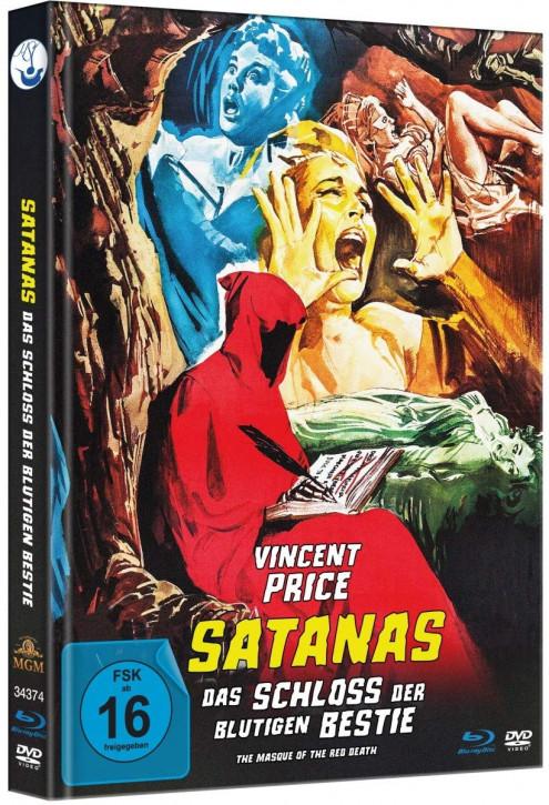 Satanas - Das Schloss der blutigen Bestie - Limited Mediabook Edition [Blu-ray+DVD]