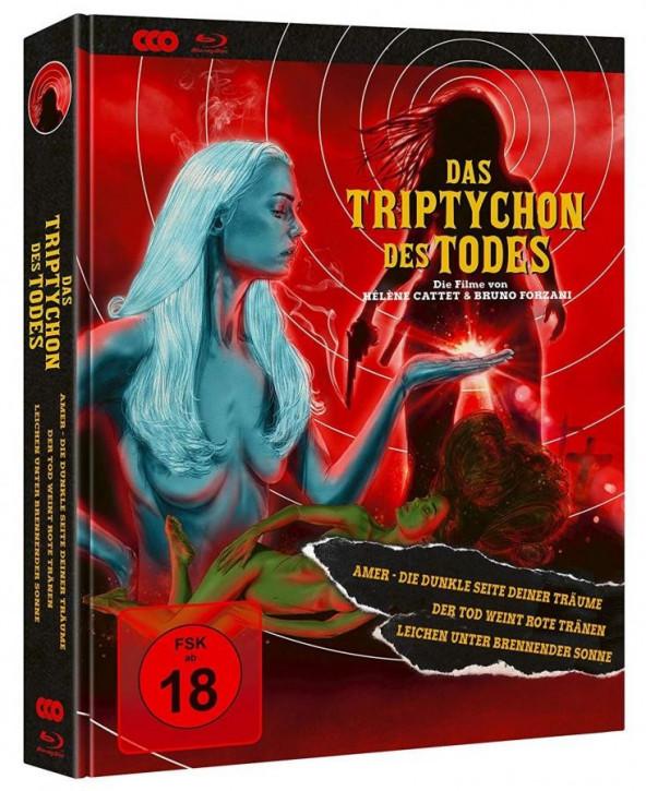 Das Triptychon des Todes - Limited Mediabook Edition [Blu-ray+DVD]