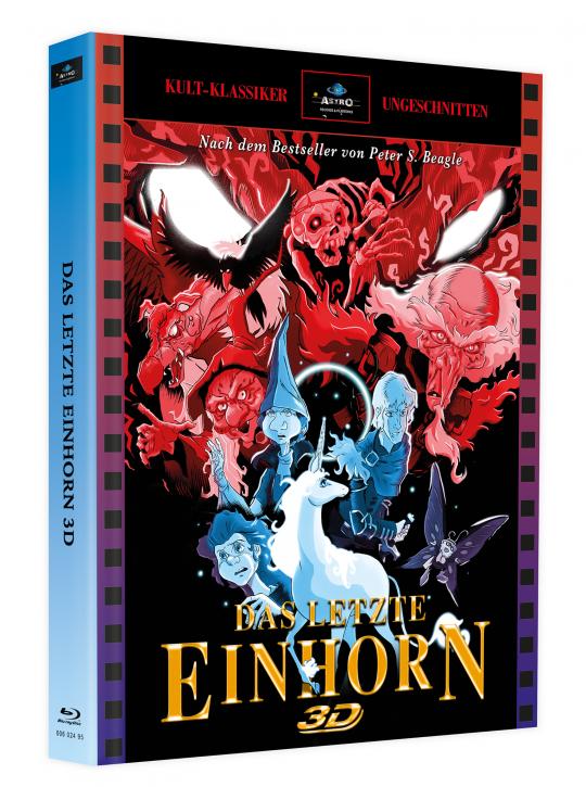 Das letzte Einhorn 3D - Mediabook - Cover A [Blu-ray]