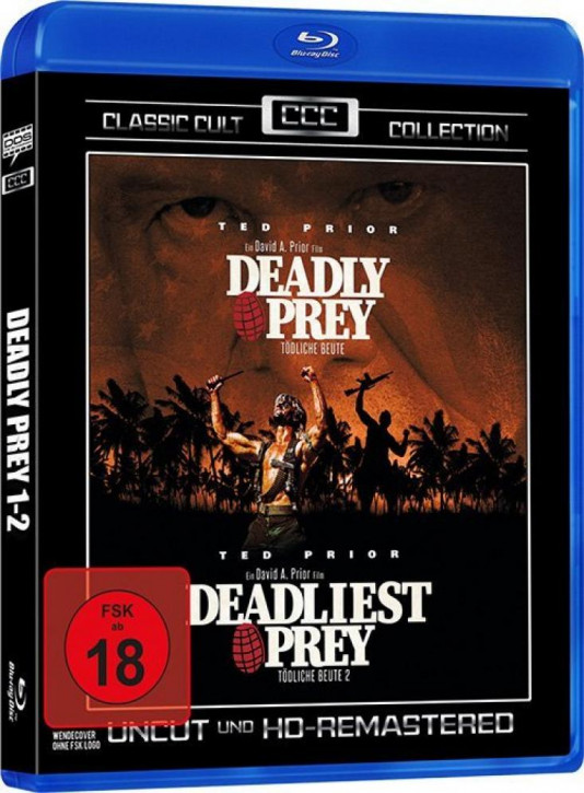 Deadly Prey 1-2 (Classic Cult Collection) [Blu-ray]
