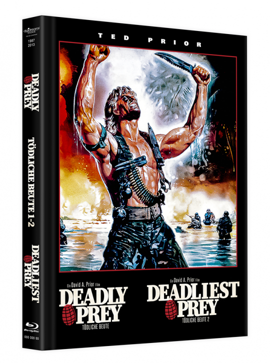 Deadly Prey - Mediabook [Blu-ray]