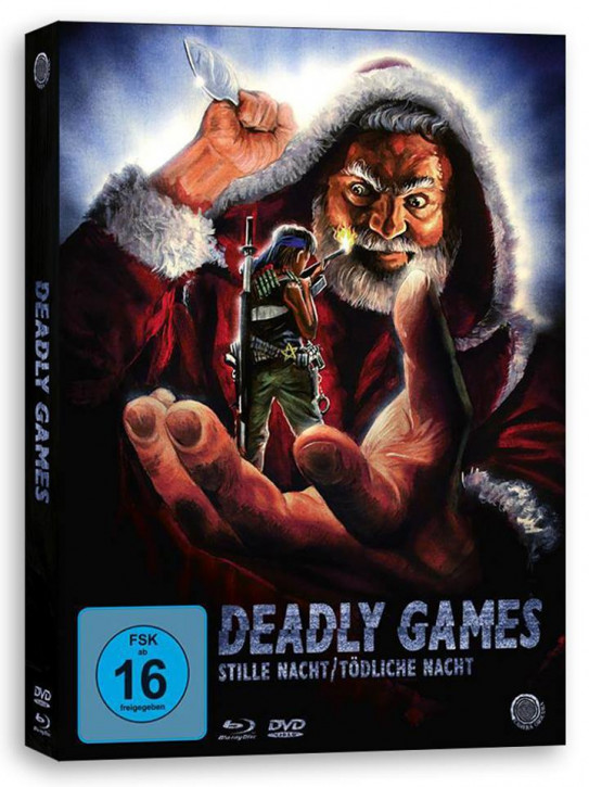 Deadly Games - Stille Nacht, TödlicheNacht - Limited Edition Digipak [Blu-ray]