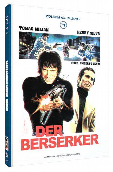Der Berserker - Limited Mediabook Edition - Cover A [Blu-ray+DVD]
