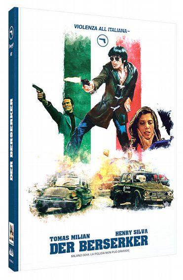 Der Berserker - Limited Mediabook Edition - Cover B [Blu-ray+DVD]
