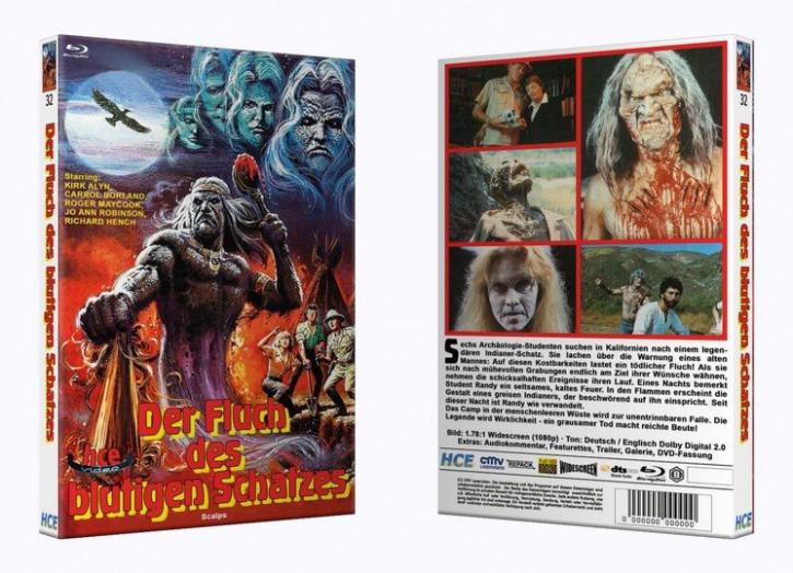 Der Fluch des Blutigen Schatzes - Große Hartbox [Blu-ray]