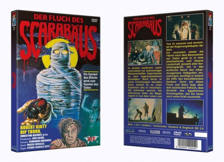 Der Fluch des Scarabäus - Große Hartbox [DVD]