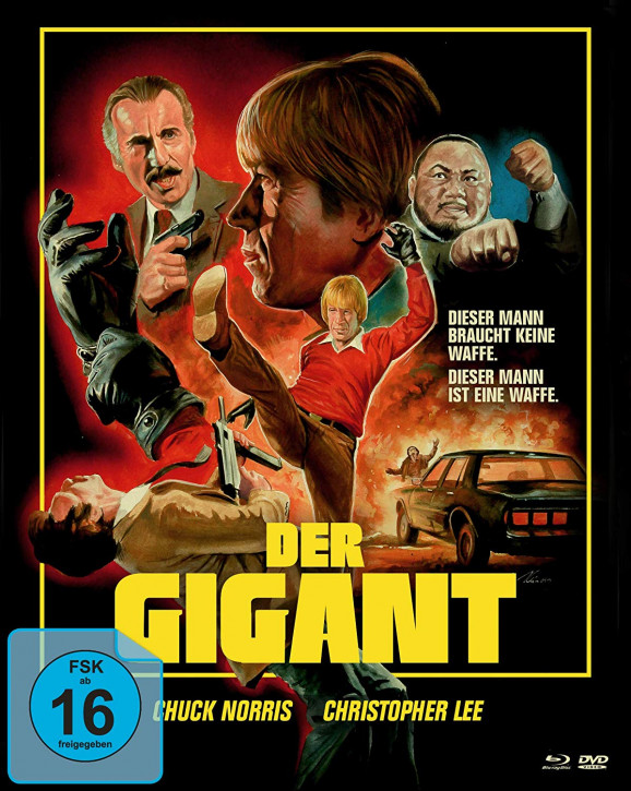 Der Gigant - An Eye for an Eye - Limited Mediabook Edition - Cover A [Blu-ray+DVD]