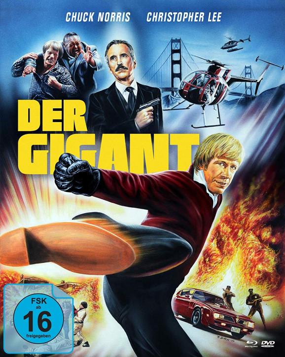 Der Gigant - An Eye for an Eye - Limited Mediabook Edition - Cover B [Blu-ray+DVD]