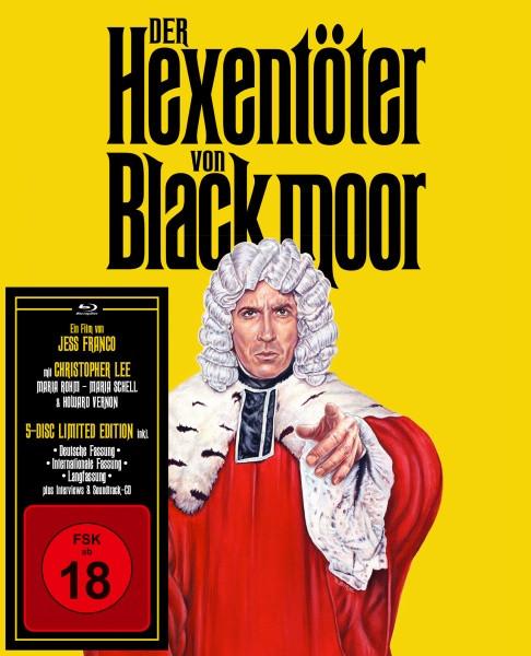 Der Hexentöter von Blackmoor - Limited Edition [Blu-ray+DVD+CD+DVD]