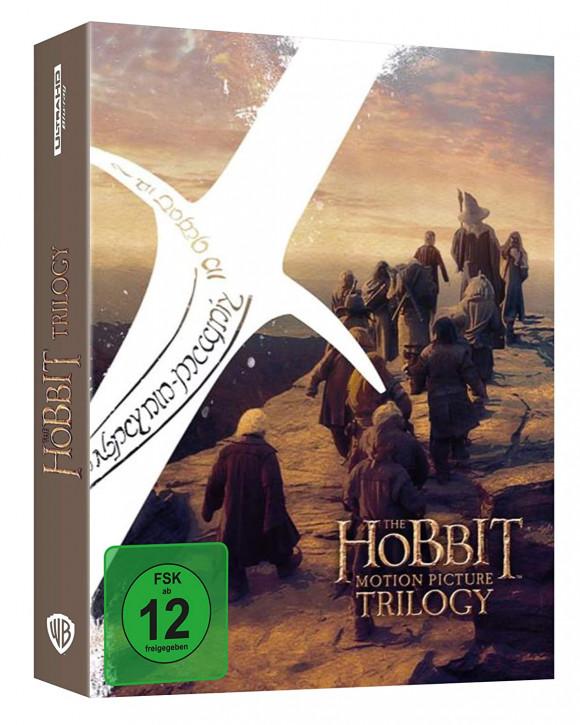 Der Hobbit: Trilogie - Extended Edition [4K UHD+Blu-ray]